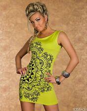 Club Fiesta Vestido Mini Elegante Moderno Ropa Formal Talla Reino Unido 10-12 Colores Disponibles