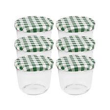 Einmachgläser 230 ml Schraubdeckel grün Marmeladengläser Sturzgläser Einweckglas