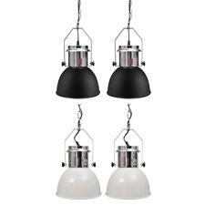 2x Hängelampe Deckenlampe Hängeleuchte Retro Industrielampe Fabriklampe Metall