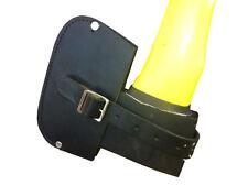 Leather axes cover ,heavy duty construction,aust made,protection,axe sheath