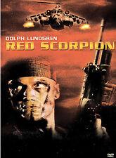 Red Scorpion DVD, Dolph Lundgren, M. Emmet Walsh, Al White, T.P. McKenna, Carmen