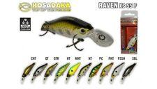 Leurre poisson nageur Raven XS 55F KOSADAKA 55mm 7,6gr pêche perche blackbass