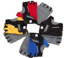 Road Mountain Bike Cycling Men Adult Half Finger Fingerless Padded Race Gloves