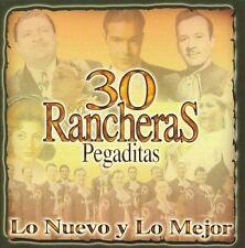 Various Artists-30 Rancheras Pegaditas CD NEW
