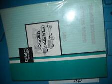 1991 GMC Safari VAN Service Repair Shop Workshop Manual FACTORY OEM