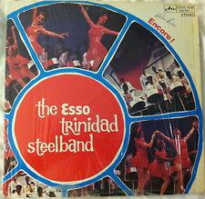 THE ESSO TRINIDAD STEELBAND ENCORE ARC LP--SIGNED!!!!