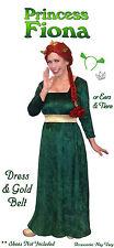 Fiona from Shrek Plus Size Princess Halloween Costume 1x 2x 3x 4x 5x 6x 7x 8x 9x