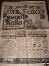 GAZZETTA DELLO SPORT 07/07/1982 CAMPIONATO DEL MONDO