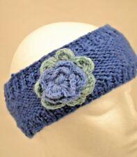 100% Wool Nepal Hand knitted Woollen Headband Winter Warm Head wrap