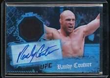 RANDY COUTURE 2010 TOPPS UFC MAIN EVENT RELIC AUTO AUTOGRAPH
