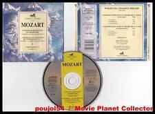 """MOZART """"2 Concertos Pour Piano Et Orchestre"""" (CD) 1992"""