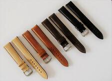 Echt Leder VINTAGE Uhrenband inkl. Schnell Wechsel Federsteg - 18mm Überlänge XL