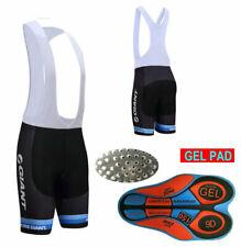 XY1944 Road Men Team Bicycle Cycling Polyester GEL Padded bib Shorts