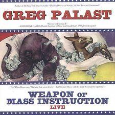 Weapon of Mass Instruction; Greg Palast 2004 CD, Politics, Democracy, Spoken Wor