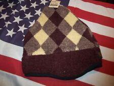 USA MADE beanie style cap adult berber contoured peak