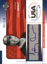 2004 (TEAM USA) USA Baseball 25th Anniv Sig. Blue Ink #GER Jody Gerut/100