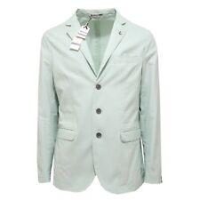 2247O giacca uomo AT.P.CO cotone verde acqua jacket men