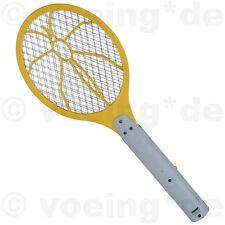 Elektrische Fliegenklatsche Fliegenfalle Insektenfalle mit 3 Drahtschichten gelb