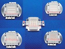 1pcs 3W 5W 10W 20W 30W 50W 100W Red 660nm SMD LED Grow Plant Light Part