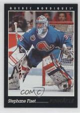 1993-94 Pinnacle #115 Stephane Fiset Quebec Nordiques Hockey Card
