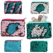 Reversible Sequin Fabric Designer Purse Unicorn Mermaid Sparkly Womens Hand Bag