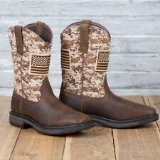 Ariat Steel Toe Workhog Patriot Boots