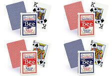 Bee cartes à jouer club spécial no 92 index réguliers no 77 Jumbo index format poker