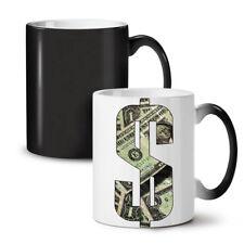 Simbolo DOLLARO NUOVO colore modifica Tè Tazza Da Caffè 11 OZ | wellcoda