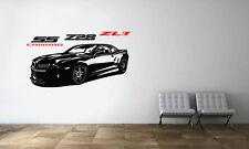 Camaro SS Z28 ZL1 Racing Sport Car Wall Decal Art Mural Vinyl Sticker