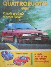 Quattroruote 450 1993 In pista con Ferrari e Lamborghini. Inserto nuova Delta