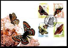 Schmetterlinge. FDC. Weißrußland 2004