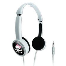 Novelty Travel Portable On-Ear Foldable Headphones Stick Figure Family