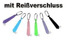 Jugenliche Krawatte mit Reißverschluss freie Auswahl