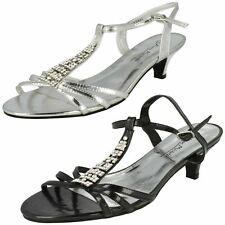 Ladies Anne Michelle Diamonte Sandals L3344