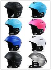 T Protection Safety Adjustable Ski Snowboard Skate Helmet for Adults Men & Women