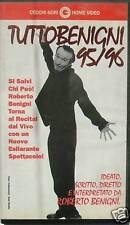 """TUTTO BENIGNI 95/96""- ROBERTO BENIGNI - VHS"