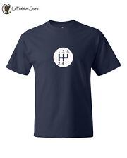 STICK SHIFT SPORTS CAR GEARS Logo T Shirts S-5XL