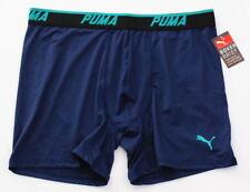 Puma Blue Lightweight Stretch Boxer Brief Men's NWT
