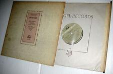 CHALIAPIN Boris Godounov US Angel LP w original deluxe packaging PLUS BOOKLETS