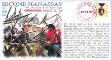 "COVERSCAPE computer designed ""Second Manassas"" 150th anniversary event cover"