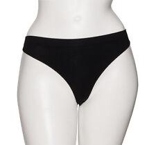 Femmes Noir sans Couture Danse Classique Ballet Slip Sous-Vêtement Culotte Haute