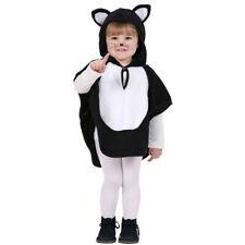 Katzenkostüm Kinder 110 cm, 3-4 Jahre, Süßes Katzen Kostüm Baby Poncho Kätzchen