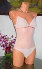 NWT Nina Ricci ROMEO & JULIETTE Lace Bodysuit, sz S or M