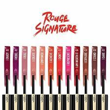 (1) L' L'Oréal Rouge Signature, Durable Mate à Lèvres Liquide Vous Choisissez