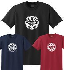 Nixon '60 Now! Retro Campaign Logo T-Shirt Tee - Men Women Youth 1960 Richard