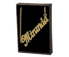 Collar Con Nombre Miranda – 18K Chapado En Oro | Novia Colgante Diseñador