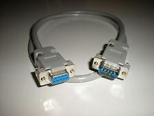 Commodore 128 (80 column mode) 9-pin male to female RGB video monitor cable.