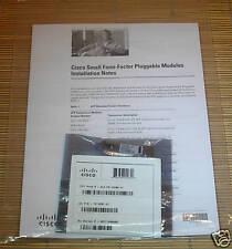 NEW Cisco ORIGINAL GLC-FE-100BX-U 100-MB 1310/1550nm 10km V01 10-2101-01 NEU