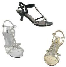 Anne Michelle Mujer de oro Gatito Zapatos de tacón