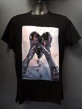 Men's Black Keys Hands Holding Black Heart T-shirt - Black